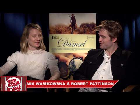Mia Wasikowska & Robert Pattinson talk about Damsel preparation
