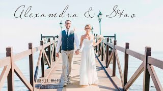 Александра&Стас.  Незабываемая свадьба (свадебное видео) в Марбелье, Испания