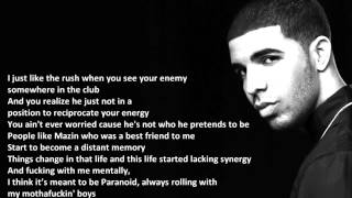 Drake - Wu Tang Forever - Lyric Video
