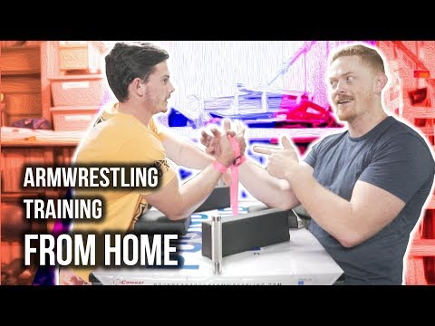 Armwrestling Training From Home