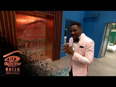 Download Day 1: Ebuka takes us on a tour | Big Bother: Double Wahala | Africa Magic