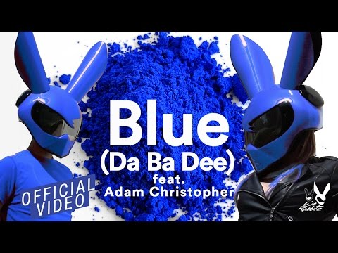 We Rabbitz ft. Adam Christopher -  Blue (Da Ba Dee)