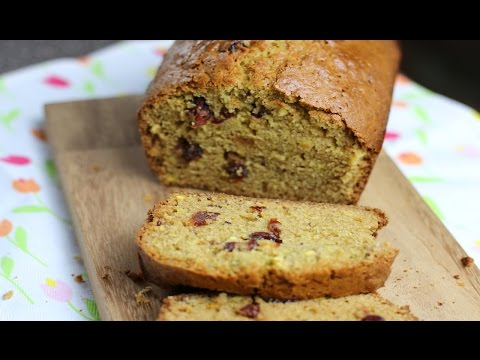 Cranberry Nut Bread / How to make cranberry nut bread recipe.