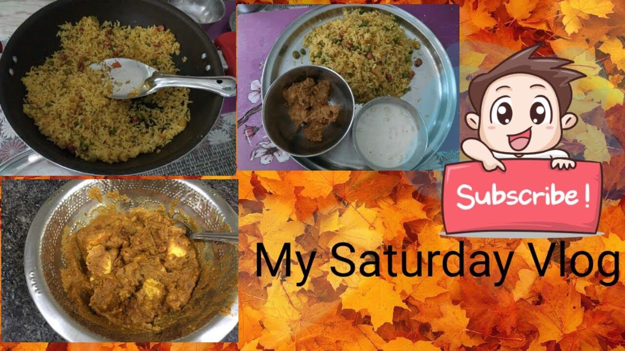 My Saturday Vlog ||Sanitizing Veggies before storage||Morning to Lunch Routine ||Paneer Korma Recipe