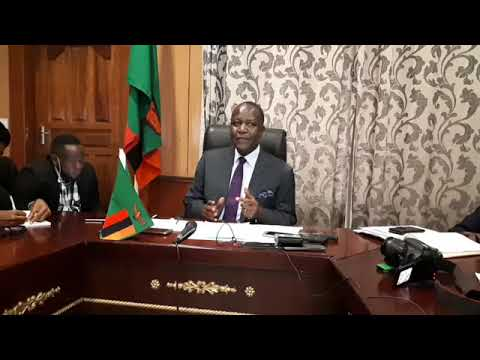 Felix Mutati  Briefing on Local Ballot papers Printing