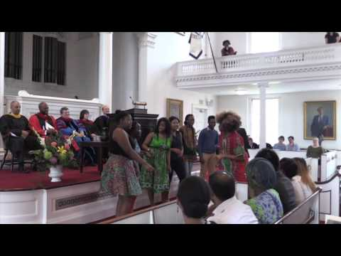 Amherst College Baccalaureate 2016