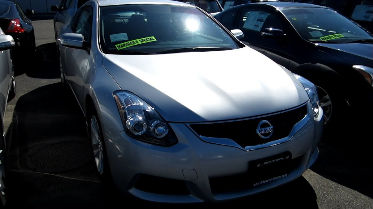 2013 Nissan Altima Coupe 2 5s Full Tour Engine Amp Overview