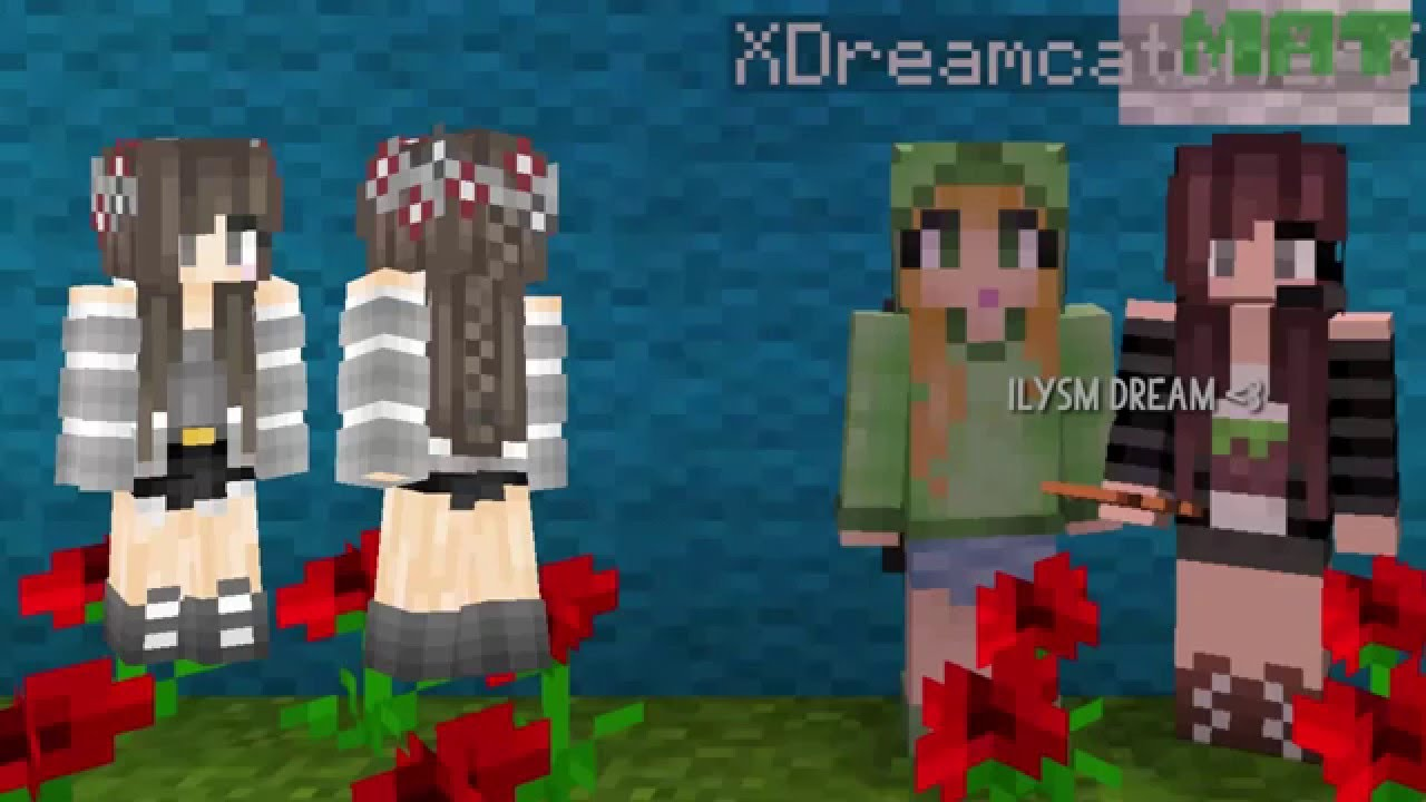 tumblr girl minecraft skin paint youtube