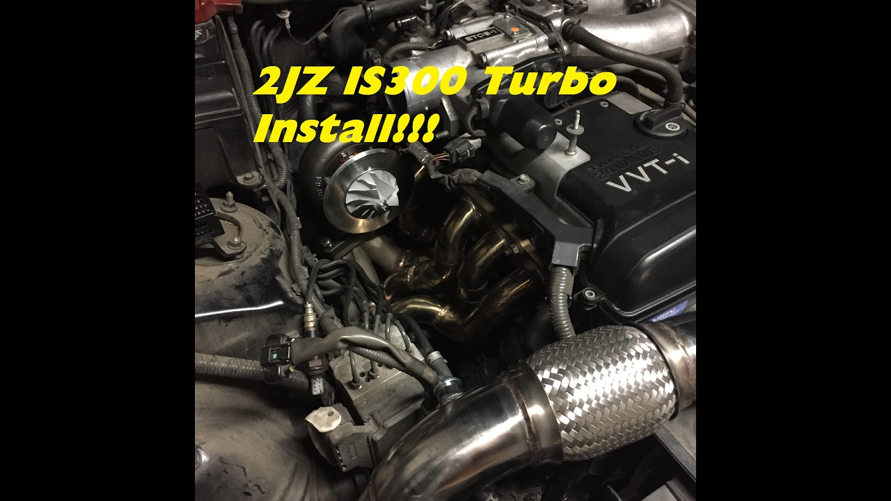 IS300 Turbo Install Part 1