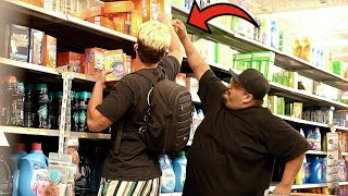 Taking Items Out of Strangers Hands Prank!!