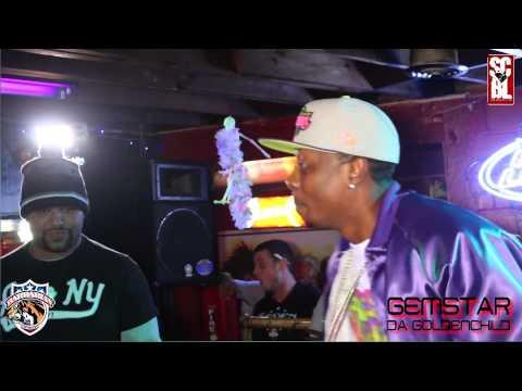 Gemstar Da Goldenchild vs Pat swayzee SCBL Barbarian Rap League Rap Battle