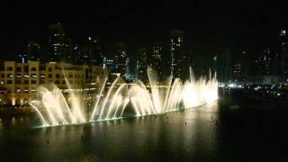 The Fountains Dubai Celine Dion Andrea Bocelli The Prayer