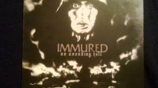 IMMURED (germany) ´´an unending hell´´ 12´´LP 2009 side A