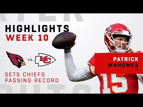Patrick Mahomes Highlights vs. Cardinals