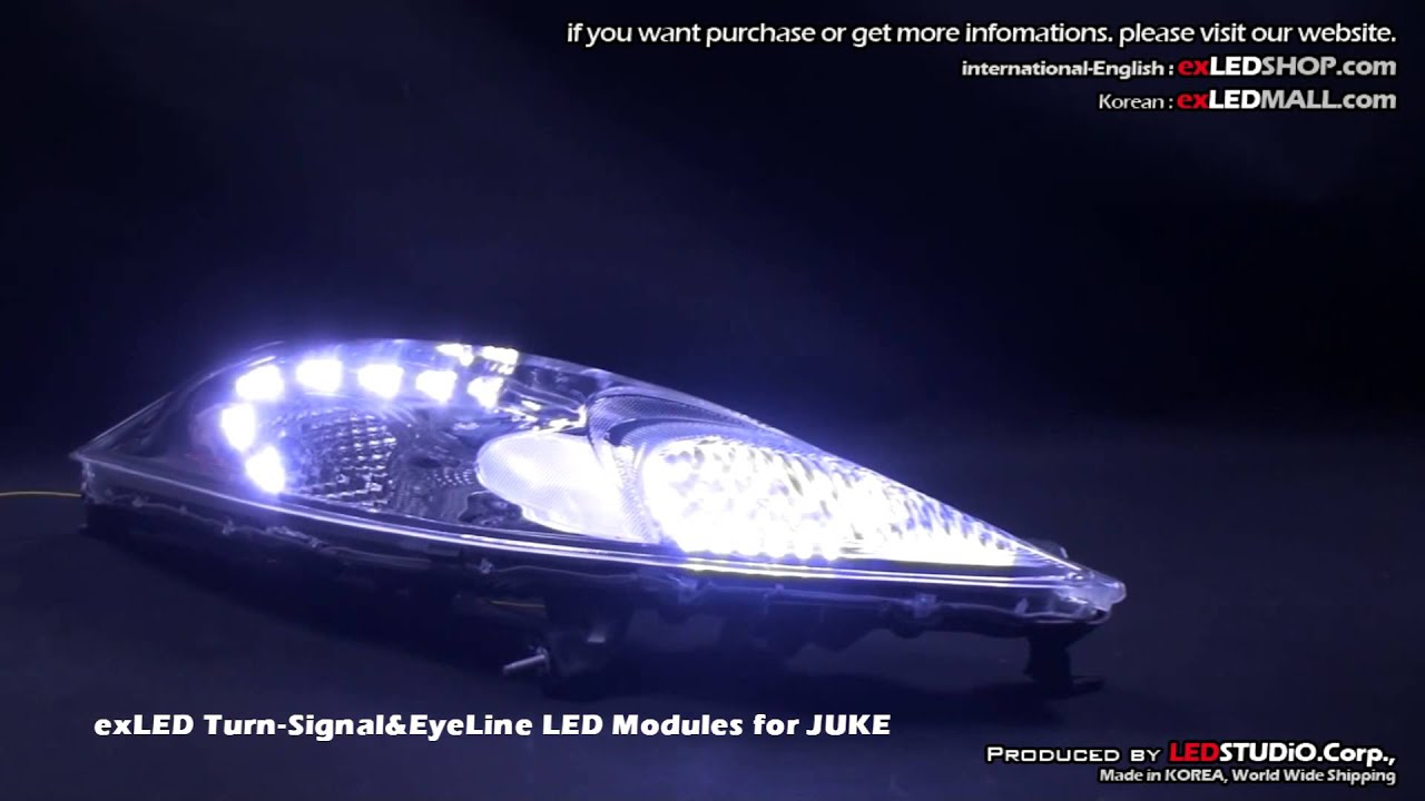 Exled Turn Signal Amp Eyeline Led Modules For Juke Youtube