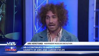 Ari on KUSI News
