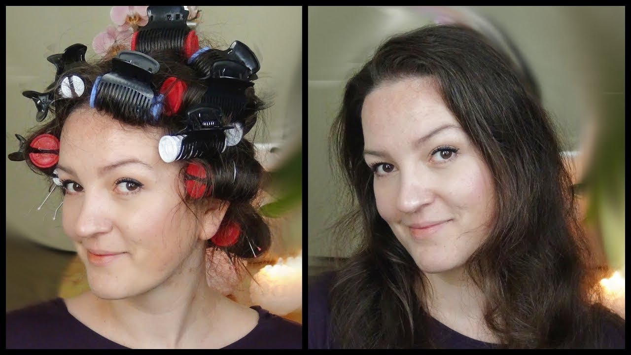 Babyliss Heated Ceramic Rollers Set Unboxing and Demo on Long Hair ... ed01e44200