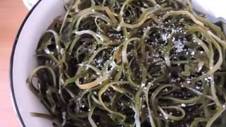 Салат из морской капусты  Полезно!