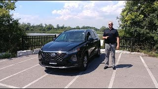2019 Hyundai Santa Fe Review, Adaptive Cruise and Autonomous Braking Tested!