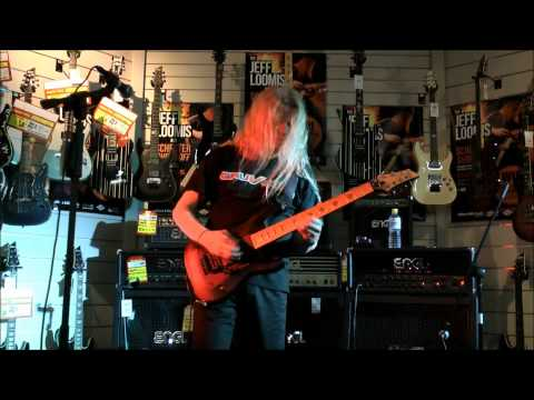 Jeff Loomis Guitar Clinic Brisbane September 27 2012