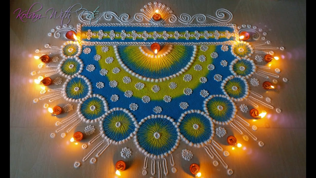 New Rangoli Desings With Colours for Festivals - Rangoli Competition ... for Beautiful Rangolis For Competition  585eri