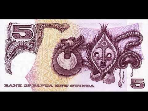 Paper money Papua New Guinea Kina Papua New Guinea banknote - banknotes