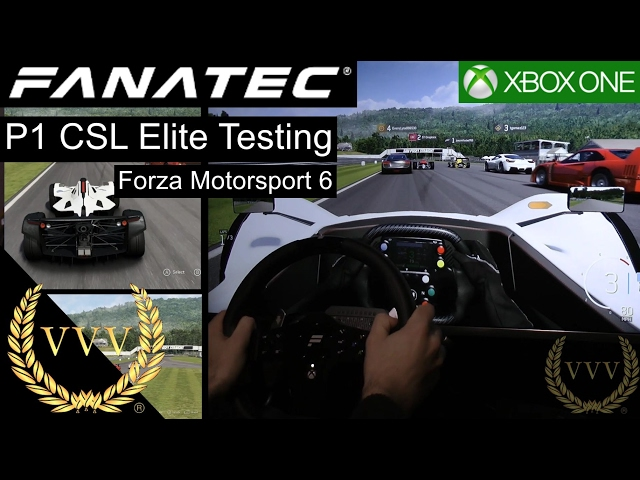Fanatec P1 Rim Testing on Forza Motorsport 6 Xbox One
