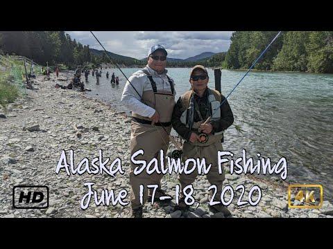 Alaska Salmon Fishing - June 17-18, 2020