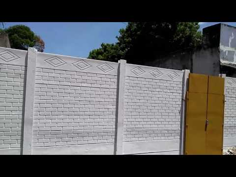 Cement Compound wall Construction videos Call 7094722001 ibm.deva@gmail.com Gate design Housing wall