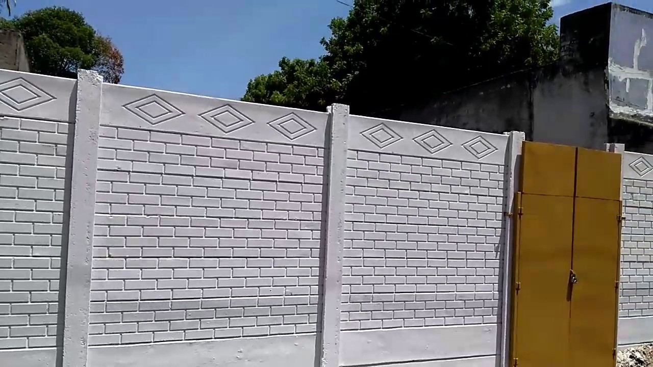 Cement Compound Wall Construction Videos Call 7094722001 Ibmdeva
