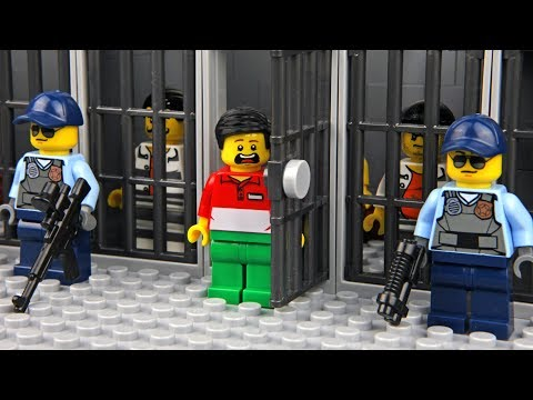 Lego Prison Break - Invisible Man