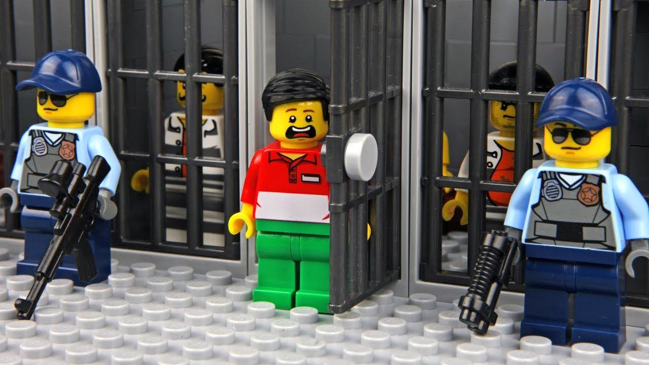 Lego Prison Break Invisible Man 3