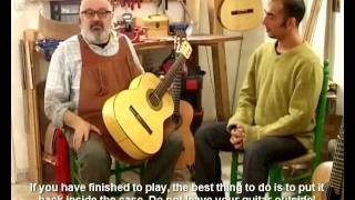 Luthier Alfredo Gonzalez: How to Take Care of Guitar Tips -טיפים על הטיפול בגיטרה