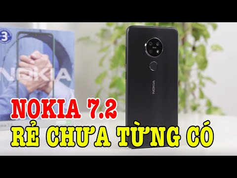 Nokia 7.2 XUỐNG GIÁ CHƯA TỪNG CÓ, quyết đấu Xiaomi và Vsmart