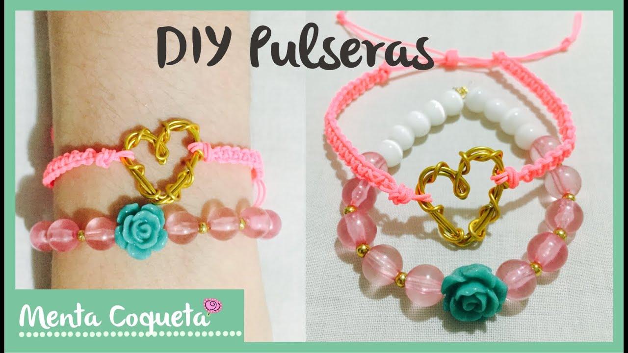 935c2745717d Como hacer pulseras de moda ♡ DIY - YouTube
