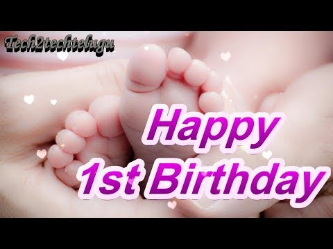 Download1st Birthday Wishes