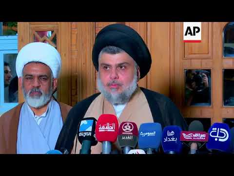 Al Sadr set to form Iraq government with Iran-backed coalition