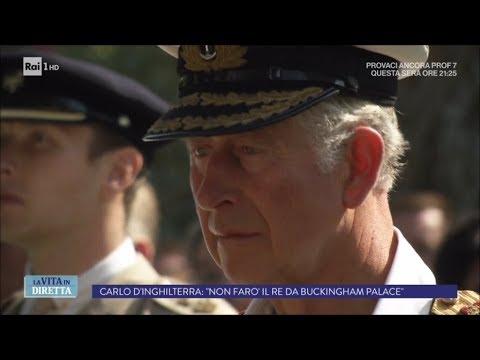 Regno Unito: Carlo sarà presto Re col segretissimo Project 70 - La Vita in Diretta 19/09/2017