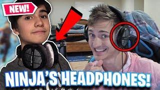 PLAYING WITH NINJA'S HEADPHONES FEELS LIKE CHEATING...! [Fortnite Battle Royale]