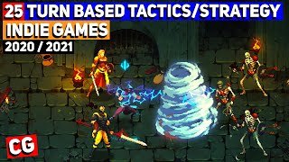 Top 25 Upcoming Turn Based Tactics/Strategy Indie Games