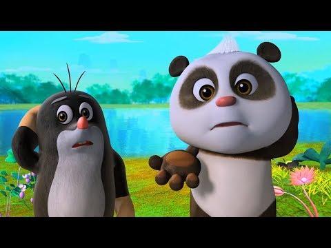 Мультики - Кротик и Панда - Конкурс талантов + Карта сокровищ - Веселые мультфильмы для детей