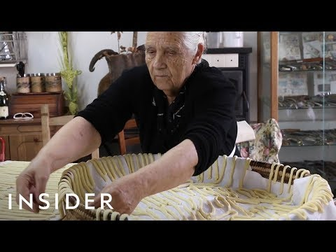Grannies Make Unique Italian Pastas On This YouTube Channel