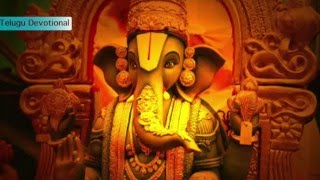 """Suklam Baradharam Vishnum"" - Ganapathi Mantram Telugu Most powerful slokam"