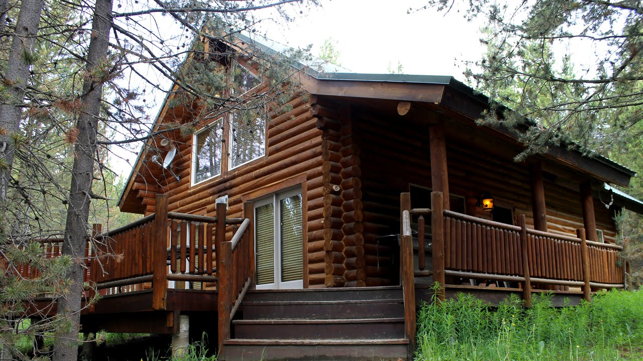 cabin for sale in island park  idaho - 3909 hidden lanes