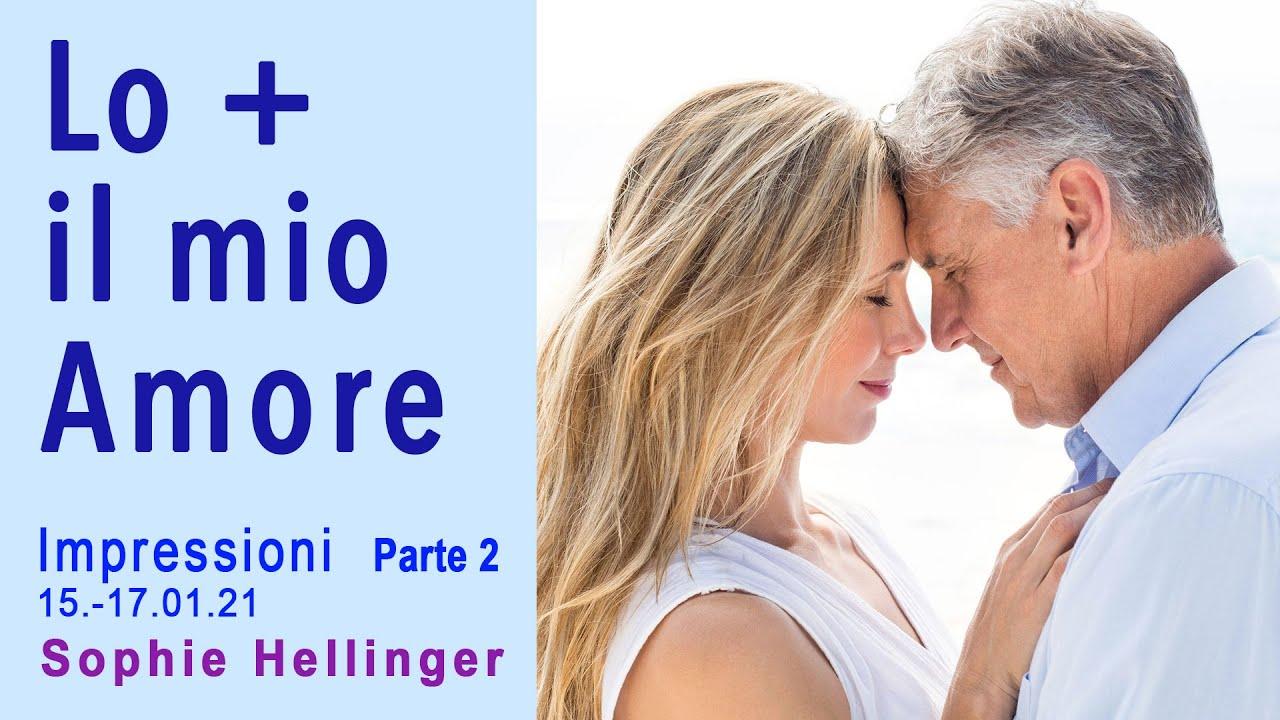"""""""Lo e il mio amore"""" Impressioni Parte 2 online seminario con Sophie Hellinger (15-17 gennaio 2021)"""