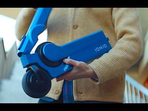 Hyundai Ioniq Electric Scooter Commercial Hyundai Scooter Electric 2017 Promo CARJAM TV