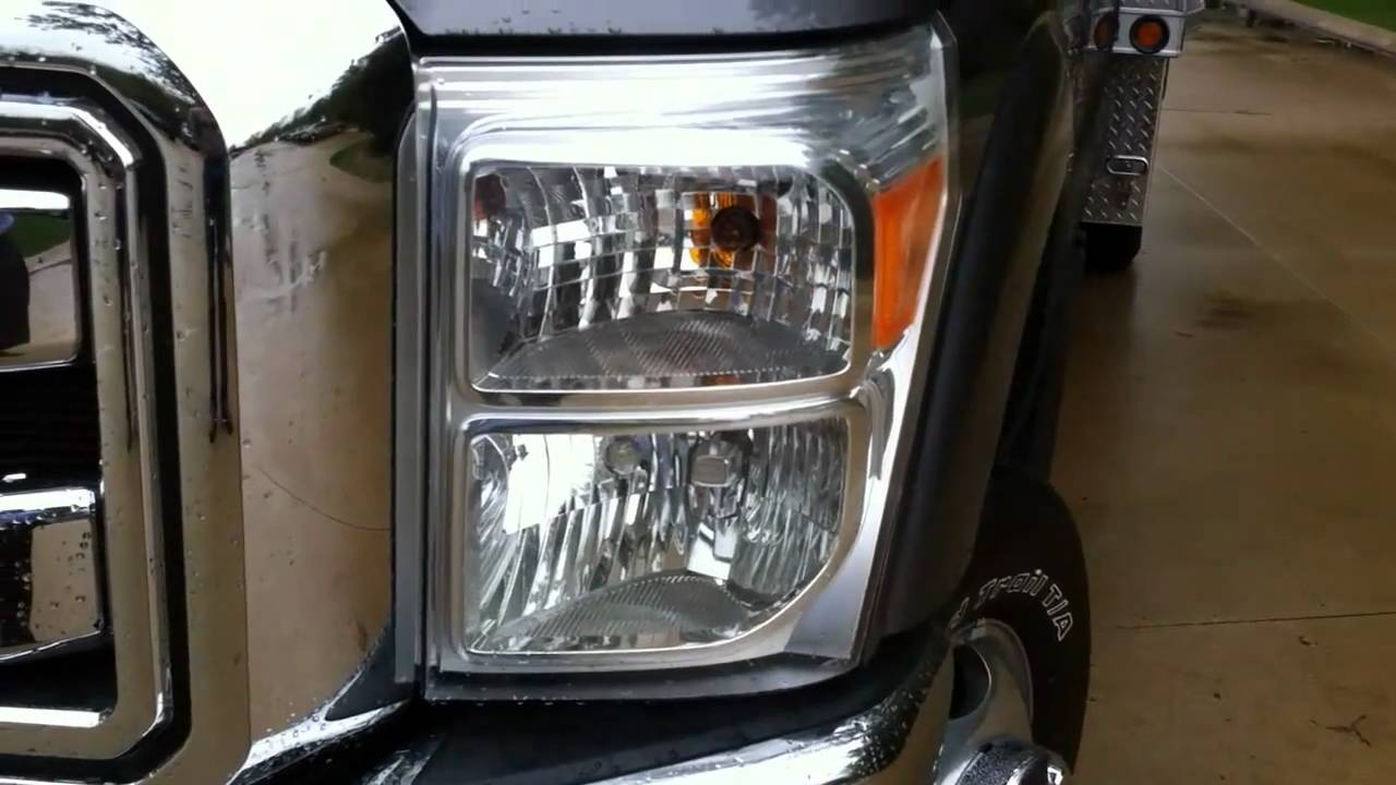 Led Strobe Lights For Trucks >> LED Hidden Strobe Lights from Buyers Products - YouTube
