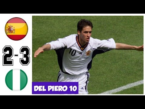 Spain vs Nigeria 2-3, World Cup 1998 Grup Stage - All Goals and Highlights