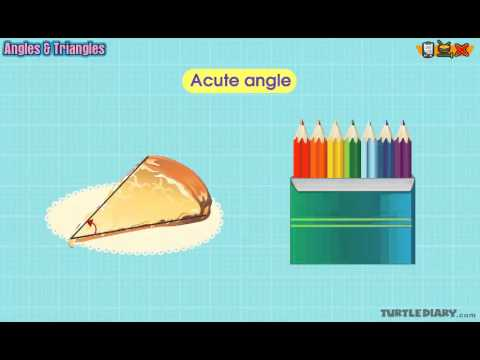Angles Acute Obtuse Right Straight Math Lesson For Grade 2