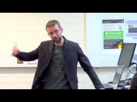 """Dr. James Hayton: """"How to get through your PhD without going insane"""""""